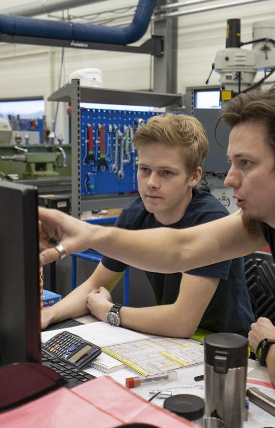 Stian and Jørgen at Devico workshop