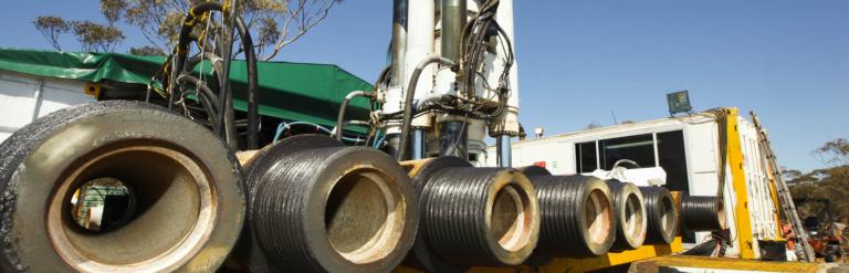 Raise Bore pilot holes Mining Production & Development